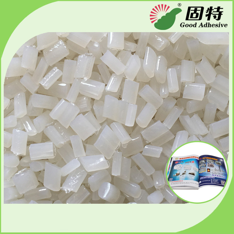 Transarent Bookbinding Double film Coated Paper Side Glue Hot Melt Pellet EVA Hot Melt Adhesive