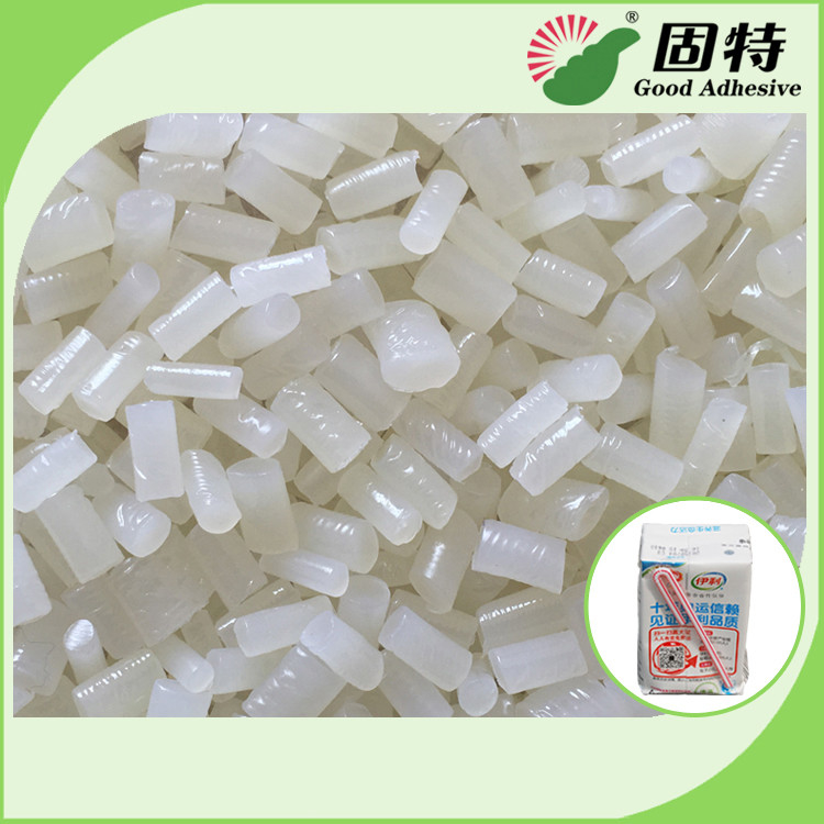 Industrial Strengt Straw Hot Melt Adhesive Pellets White Semi Transparent Color