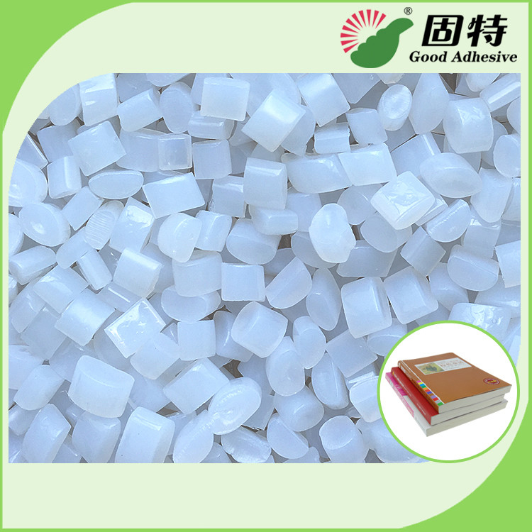 Environmental Book Binding Adhesive Glue , Hot Melt Glue Pellets In White
