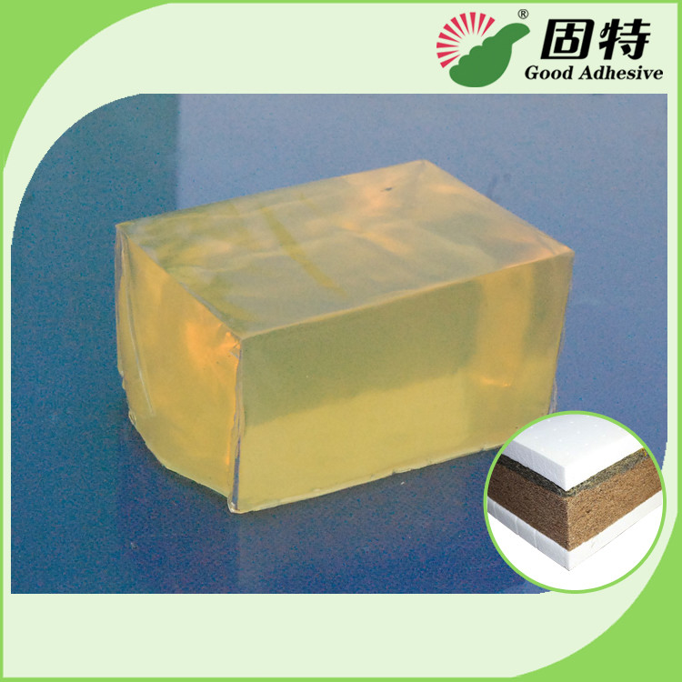 Good Bonding Strength Medium Setting Time Hot Melt Glue for Coating of Fabric Sponge