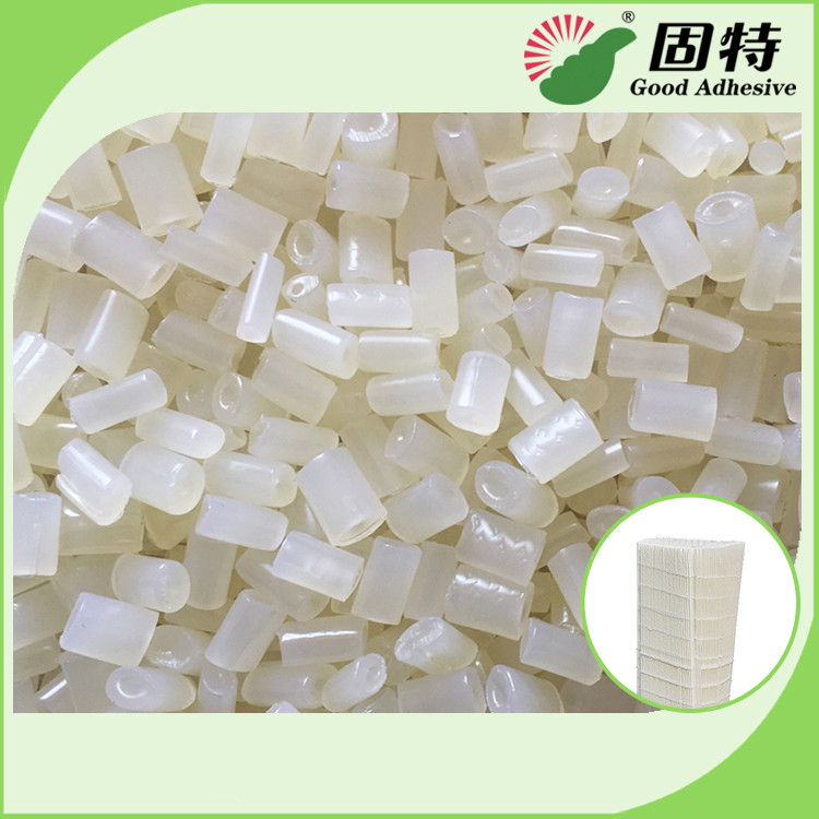 EVA Resin Hot Melt Adhesive With White Granule Solid for Forming and Bonding of Filter Elements